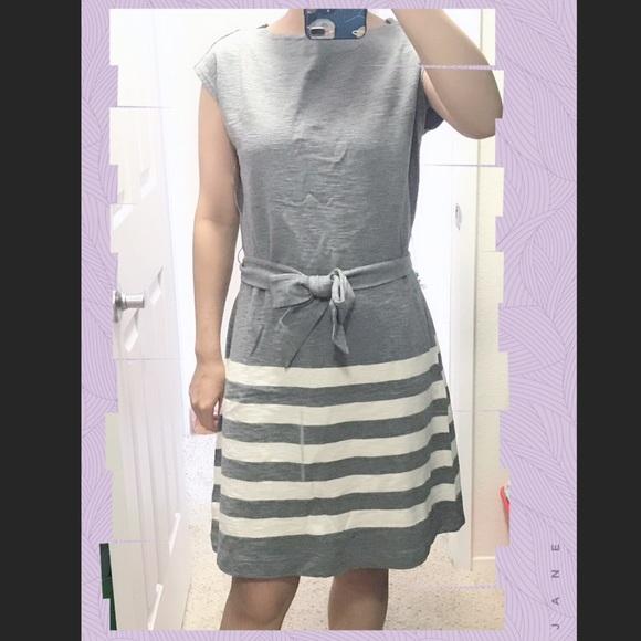 GAP Dresses & Skirts - Stripe dress bussiness casual